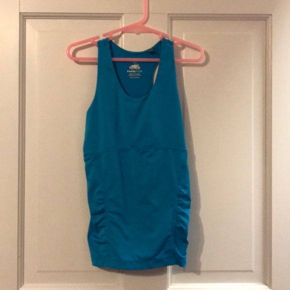 Roots Canada Other - Roots blue workout tank top!!